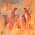 Bezoekers Palmyra  200 x 170